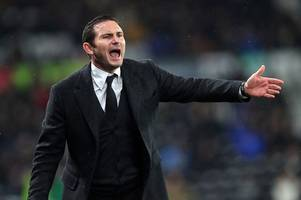 frank lampard calls derby county to be more clinical to secure a top-six finish