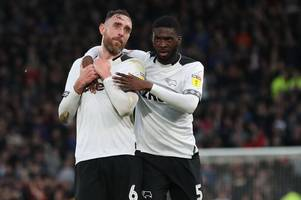 richard keogh? harry wilson? who has been derby county player of the season so far?