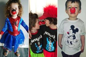 red nose day 2019 in hull: 46 brilliant pictures of your kids dressed up