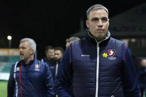 we deserved something, but the referee had a bad night - every word of cheltenham town manager michael duff's interview after the 1-0 defeat at newport county afc