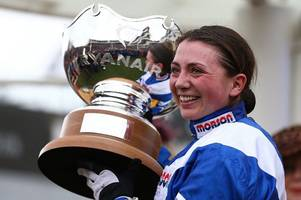 how bryony frost celebrated historic cheltenham win - and even swears on live breakfast tv