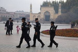 china says camps in xinjiang will 'gradually disappear'