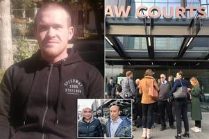 New Zealand shooting: Terror attack suspect in court as 'knifeman' tries to get in