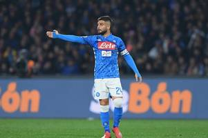 arsenal receive big boost as napoli announce three injured stars could miss emirates clash