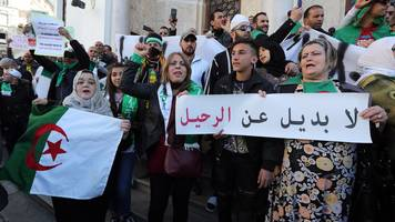 algerians call for bouteflika resignation despite poll delay