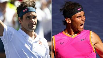 federer & nadal to meet for first time since 2017 in indian wells semis