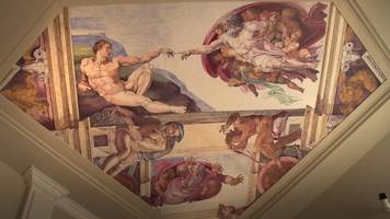 having the sistine chapel in your living room