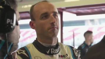Polish Formula 1 driver Robert Kubica returns to the sport after a serious accident