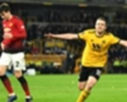 wolves stun manchester united in fa cup