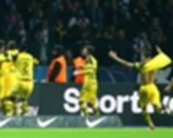 hertha berlin 2 borussia dortmund 3: reus' stoppage-time winner sends visitors top