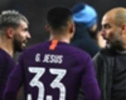 'var, where you at?' - man city benefit from questionable sterling & aguero calls in absence of technology