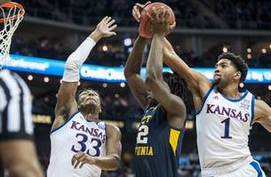 ku advances to big 12 championship game with 88-74 win over west virginia