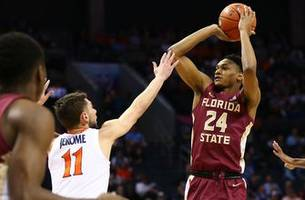 no. 12 fsu upsets no. 2 virginia to advance to acc championship game