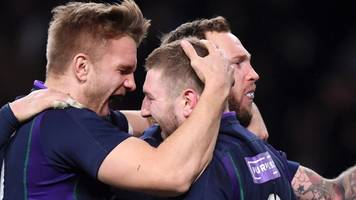 england score late to deny scotland stunning win