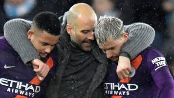 manchester city boss pep guardiola hails side's fight after fa cup win at swansea