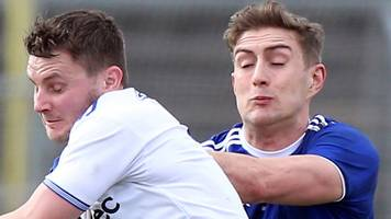 football league division one: cavan relegated after 1-8 to 0-14 defeat by monaghan