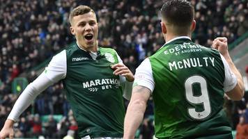 hibernian 2-0 motherwell: marc mcnulty and david gray on target in impressive win