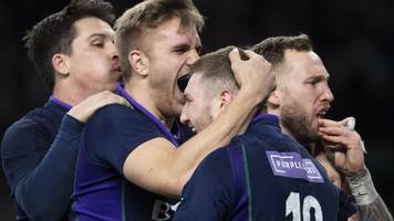 six nations 2019: england 38-38 scotland - russell-townsend 'argument' sparks revival