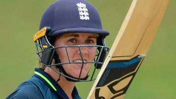 england v sri lanka: natalie sciver hits 93 as tourists win first odi