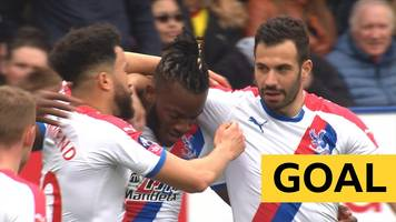 fa cup: crystal palace's michy batshuayi punishes adrian mariappa's mistake