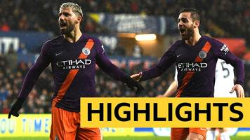 fa cup: swansea 2-3 man city highlights