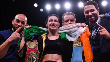 katie taylor: irish lightweight stops rose volante to set up unification bout