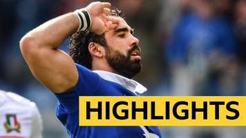 six nations 2019: italy 14-25 france highlights