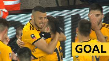 FA Cup: Diogo Jota doubles Wolves lead against Manchester United