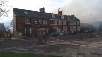 Gateshead fire tackled by dozens of firefighters