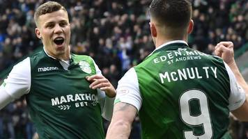 hibs sweep aside motherwell as heckingbottom impact continues
