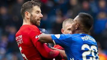 rangers players need protection from dangerous tackles - gerrard