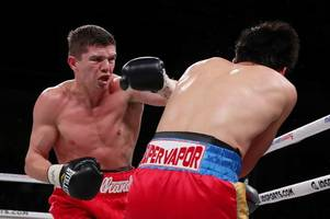 luke campbell at his devastating best in sublime display to inflict first-ever stoppage on adrian young