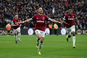 premier league: west ham stage fightback to beat huddersfield, newcastle and bournemouth play out draw