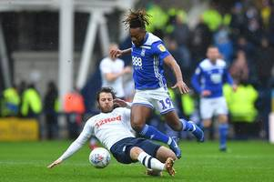 'bit of a roasting' birmingham city player ratings and who stood out in defeat at preston