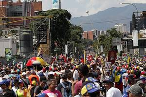 venezuelan opposition launches new round of protests