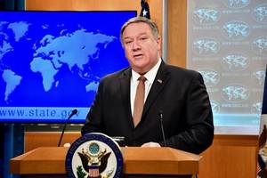 war crime investigators will be barred from entering us, secretary of state mike pompeo says