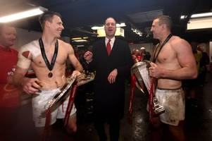 inside the raucous wales dressing room as prince william joins six nations grand slam celebrations