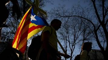 big pro-catalan rally staged in madrid