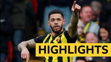 fa cup: watford 2-1 crystal palace highlights