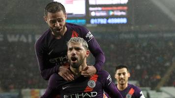 man city stage stunning fightback to keep quadruple hopes alive