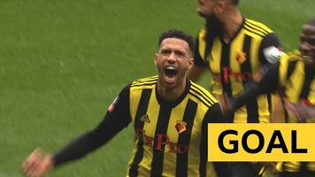 watch: capoue opens the scoring for watford