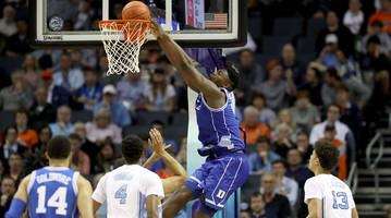 zion williamson puts on a show in one of the greatest duke-unc games in history