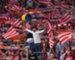 atletico madrid vs barcelona crowd set record attendance for women's club football
