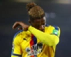 crystal palace boss roy hodgson rues wilfried zaha's absence after fa cup ouster