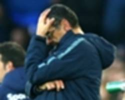 sarri at a loss to explain chelsea display in everton defeat
