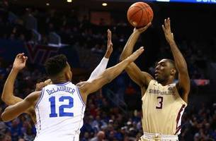 no. 12 florida state falls to zion williamson, no. 5 duke in acc championship