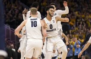5th-seeded marquette to take on no. 12 murray state in ncaa tourney