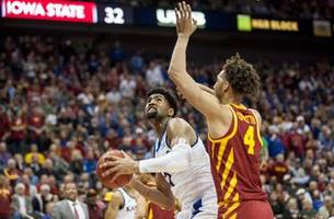 Kansas falls 78-66 to Iowa State in Big 12 championship game