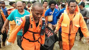 Indonesia floods: Dozens dead in Papua province