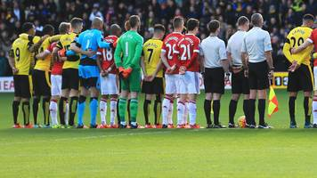 premier league, efl & fa accused of 'double standards' for not holding mosque attack tribute